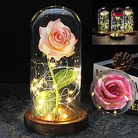 ✨ Роза в стеклянной колбе / Вечная роза / Подарок Роза в колбе ✨, фото 1