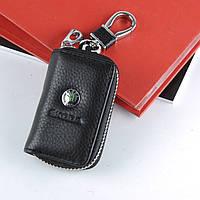 Чехол для ключей с карабином Skoda    2869