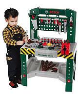 Ігровий набір для хлопчиків Майстерня Bosch з 77 інструментів з верстатом і кріпильних елементів Klein Кляйн