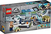 Lego Jurassic World Лабораторія доктора Ву: Втеча дитинчат динозавра 75939