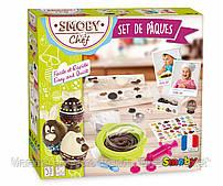 Детский Игровой Набор из Безопасного Пластика с Миской и Шприцом для Приготовления Конфет Chef Smoby Смоби