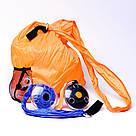 Складна компактна сумка-шоппер Shopping Bag To Roll Up багаторазова для походу за продуктами повсякденна, фото 6