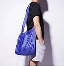 Складна компактна сумка-шоппер Shopping Bag To Roll Up багаторазова для походу за продуктами повсякденна, фото 7