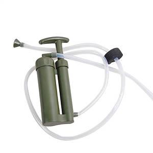 Походный фильтр для воды Gymtop SWF-2000, туристический, армейский