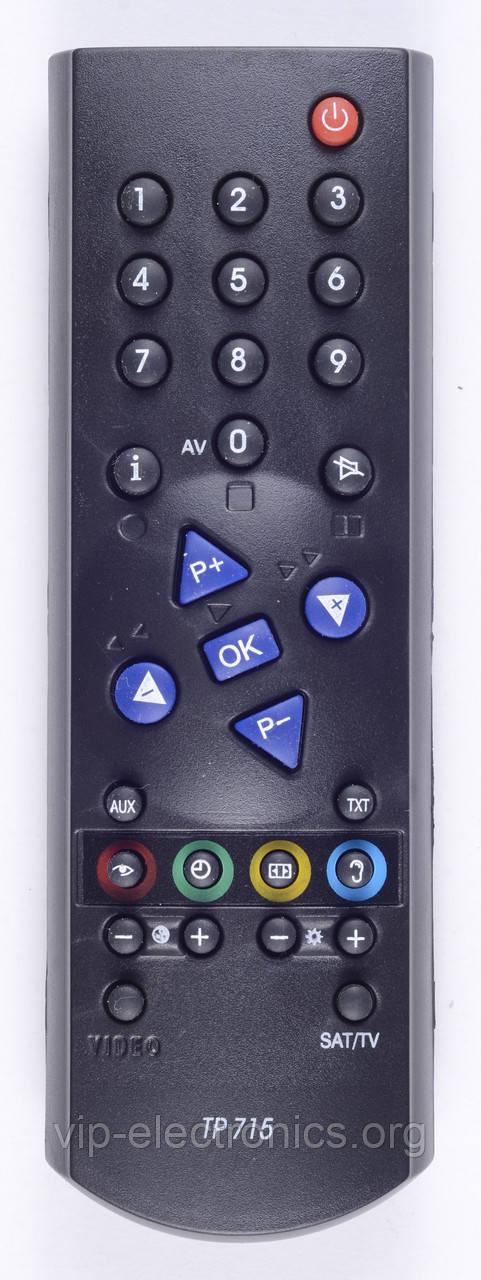 Пульт Grundig  TP715 (TV) з ТХТ як оригінал