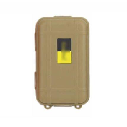 Мінімальний набір виживання в лісі з 8 предметів в герметичному кейсі FervorFOX AK-8, зелений, фото 2