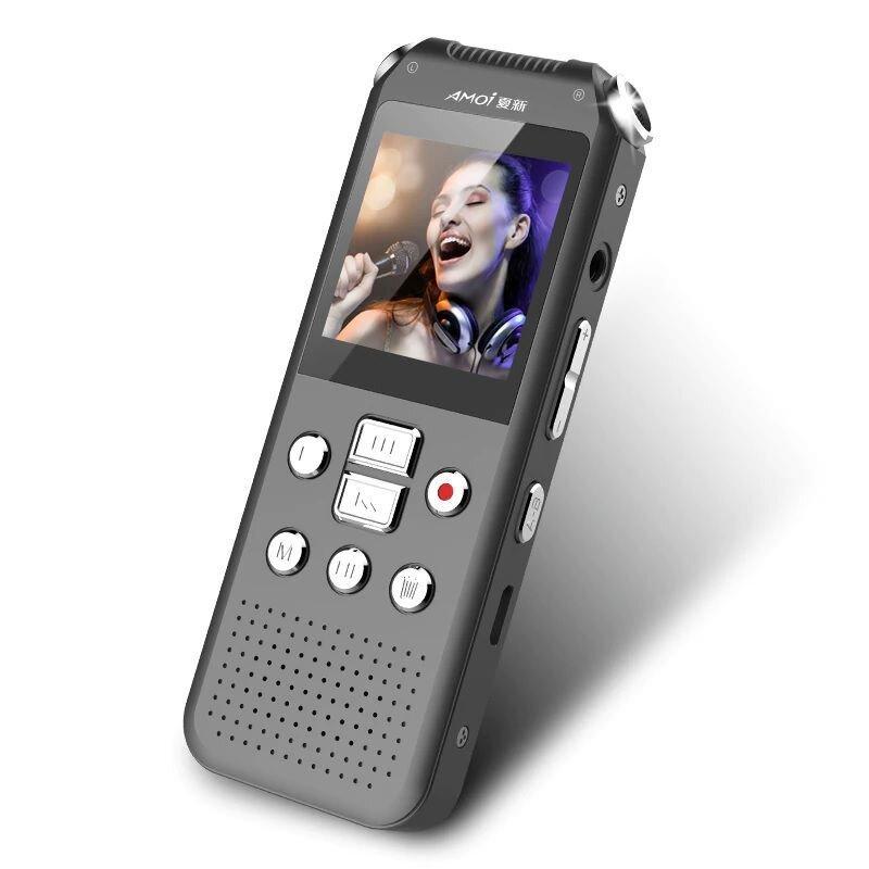 Диктофон + відеореєстратор + фотоапарат 3в1 Amoi E730, міні, WAV до 768 кбіт/с, AVI до 720p, метал