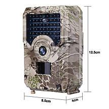 Фотоловушка - камера для полювання Boblov PR-200, 12 Мп, 1080P, ІК 15 метрів, кут 120 градусів, фото 3