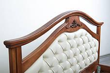 Кровать Маргарита 1,6 орех (Микс-Мебель ТМ), фото 3