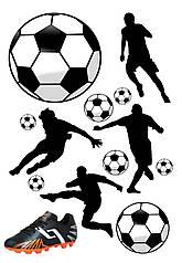 """Вафельна картинка """"Футболісти"""""""