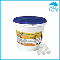 Химия для бассейнов Crystal Pool Quick Chlorine Tablets 5 кг ( таблетка 20 гр)