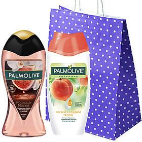 """Набор """"Palmolive"""" Гель для душа Palmolive """"Роскошь Масел""""  +Гель-крем для душа Palmolive сладкий персик"""