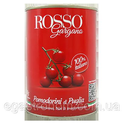 Помідори Горгано Россо чері Gorgano Rosso pomodorini 400g 24шт/ящ (Код : 00-00005631)