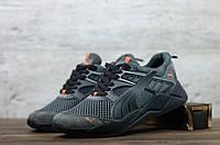 Чоловічі текстильні кросівки Сірі Puma, фото 1