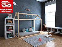 Кровать-домик Анетти 80*160 Щит БУКа, фото 1