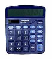 Калькулятор ASSISTANT 138x103x27мм, 12-розрядний фіолетовий
