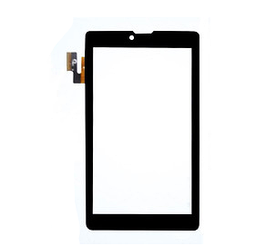 """Оригинальный Сенсор (Тачскрин) для планшета 7"""" Texet TM-7032 (186*107 мм, 36 pin) (Черный-Самоклейка)"""