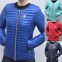Женская короткая стеганная демисезонная куртка Шанель в разных цветах 42-66размеры в наличии