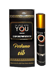 Масляные духи Emporio Armani In Love With You, женские