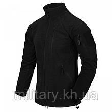 Куртка ALPHA TACTICAL - Grid Black Fleece