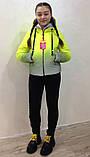 Демисезонная светоотражающая куртка 36-42р от производителя, фото 3