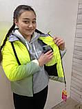 Демисезонная светоотражающая куртка 36-42р от производителя, фото 4