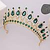 Діадема кольє і сережки, набір прикрас, корона, тіара, фото 7