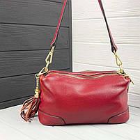 Женская кожаная сумка. Сумочка женская из натуральной кожи, фото 2