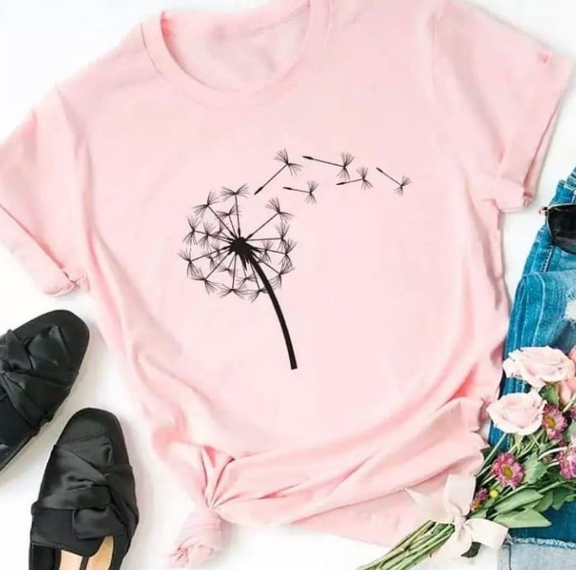 Крутая женская футболка «Одуванчик »