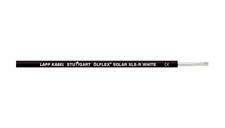 Кабель для сонячних батарей Olflex Solar XLS-R 1x2.5 WH/BK (0023136)