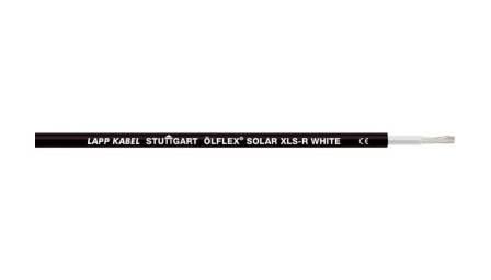 Кабель для солнечных батарей Olflex Solar XLS-R 1x2.5 WH/BK (0023136)