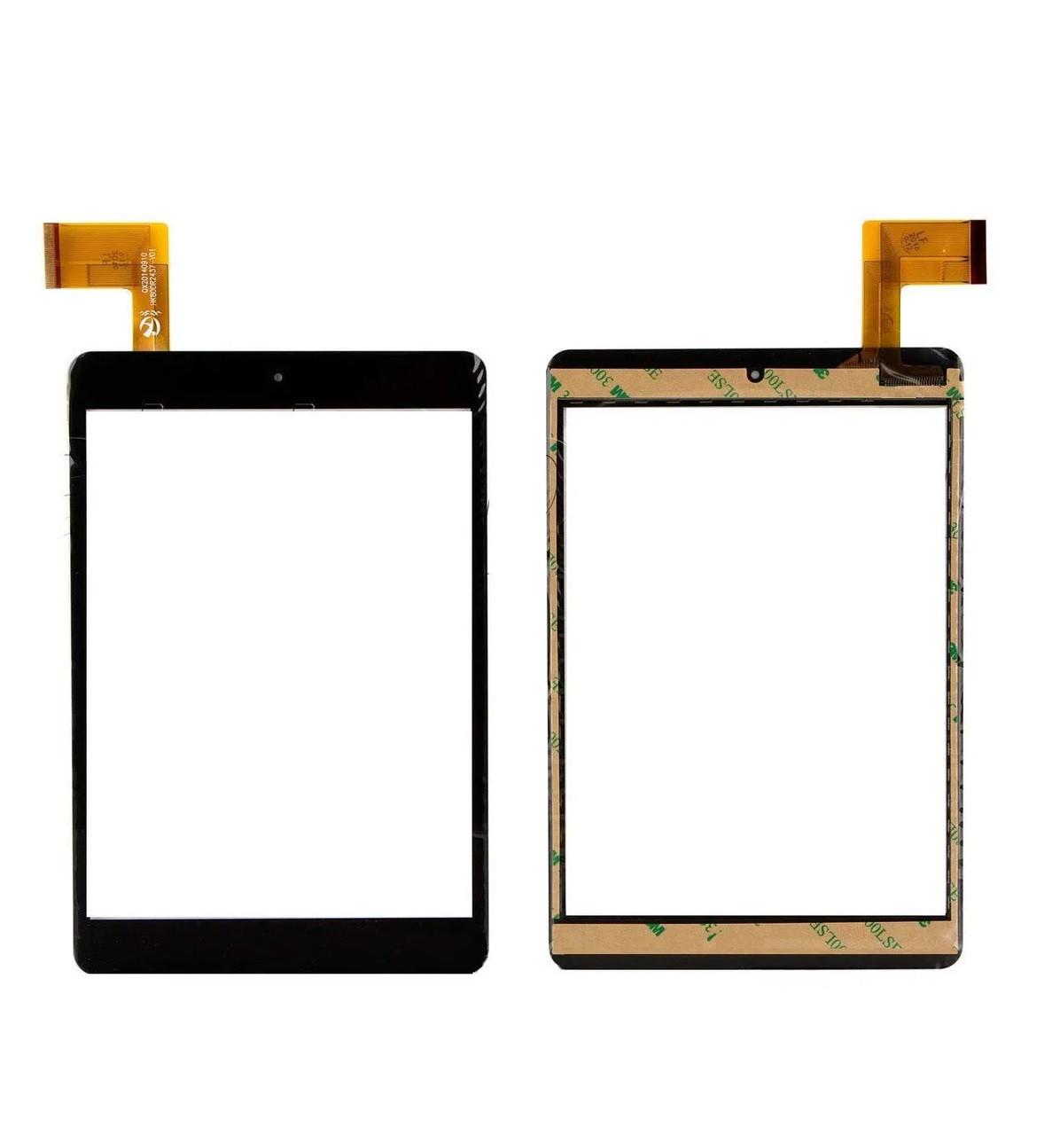 Сенсор для планшета Nomi A07850 (131*197), (HK80DR2437-V01) тип 2 (Чорний) Оригінал Китай