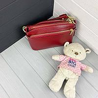 Міні сумка жіноча шкіряна. Сумочка жіноча з натуральної шкіри, фото 10