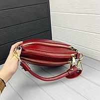 Міні сумка жіноча шкіряна. Сумочка жіноча з натуральної шкіри, фото 4
