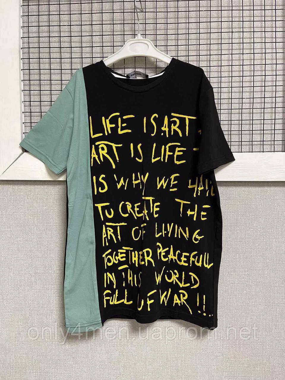 Яркие трендовые футболки для мальчиков 152-176см