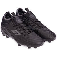 Бутси копи футбольні дорослі чоловічі з носком DIFENO Термополіуретан Чорний (180103-3) 40