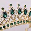 Диадема колье и серьги, набор украшений, корона, тиара, фото 6