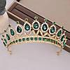 Диадема колье и серьги, набор украшений, корона, тиара, фото 10