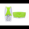 Дозатор зубної пасти +підставка для зубних щіток DL172 Салатовий