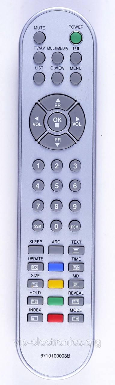 Пульт LG  6710T00008B (TV)  LCD