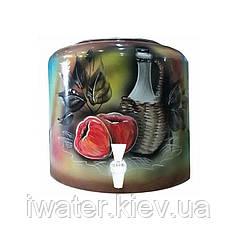Диспенсер керамічний Яблука