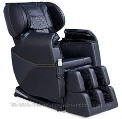 Массажное кресло Keppler Black (Киплер черное) проф. экокожа