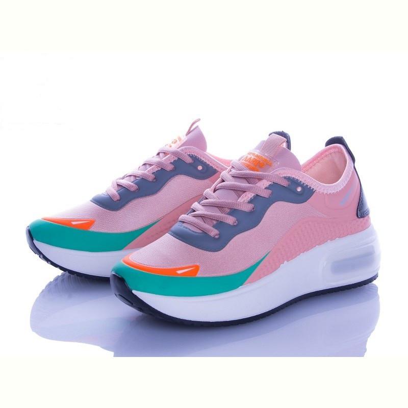 Модные кроссовки женские Violeta розовые