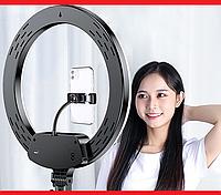 Кільцева LED лампа AL-33 33см 220V 1 крепл.тел. + пульт