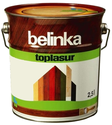 Belinka Toplasur 1 л, Эбеновое дерево 22