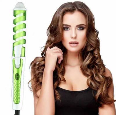 Спиральная плойка стайлер Perfect Curl RZ118 Зелёная 142151