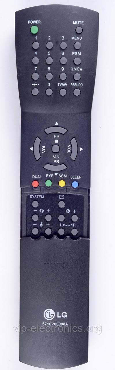 Пульт LG  6710V00008A (TV) як оригінал