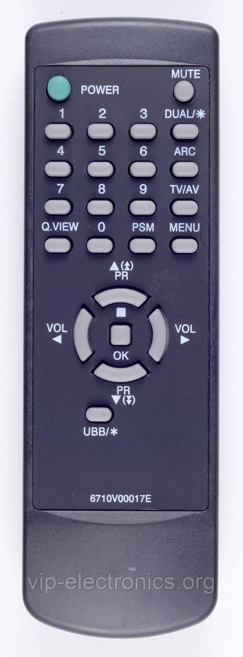 Пульт LG  6710V00017E (TV)  як оригінал