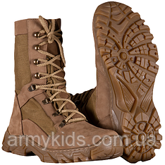 Ботинки Берцы DESERT COYOTE демисезонные кожаные  с 39 по 46