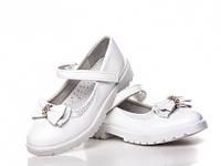 Детские туфли BBT на девочку. Цвет белый. Размер 31-36